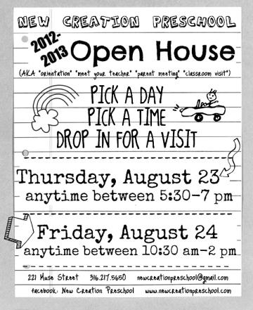 open house 12-13