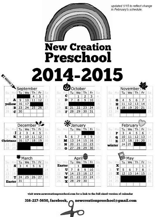 final calendar